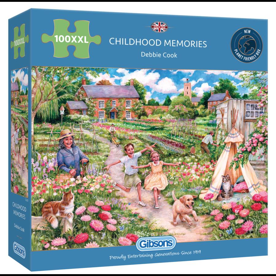 Souvenirs d'enfance - puzzle de 100 XXL pièces-1