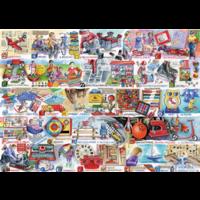 thumb-Space Hoppers & Scooters - puzzel van 1000 stukjes-2