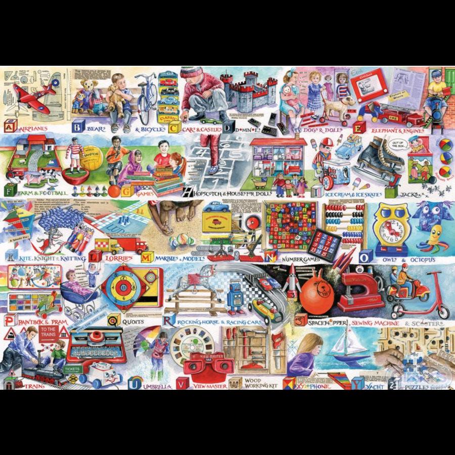 Space Hoppers & Scooters - puzzel van 1000 stukjes-2