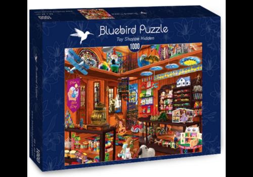 Bluebird Puzzle De verborgen speelgoedwinkel - 1000 stukjes