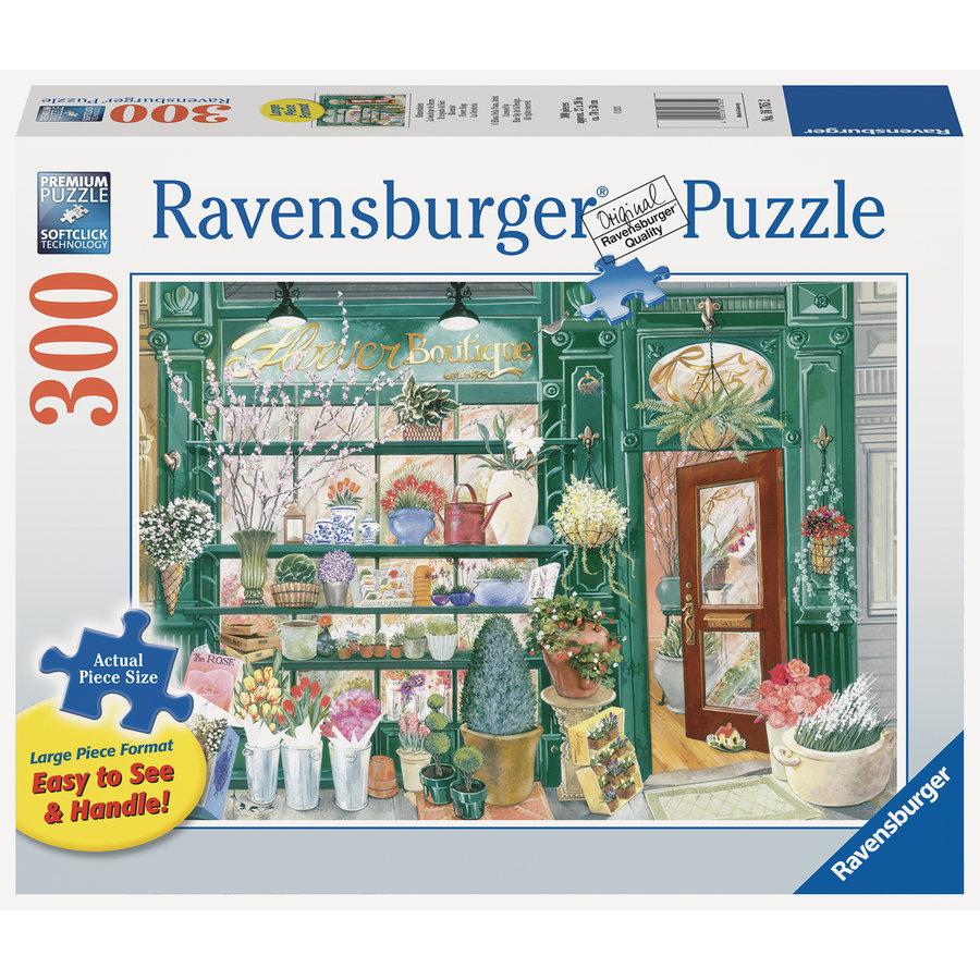 Bloemenwinkel - puzzel van 300 XXL stukjes-1