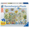 Ravensburger Serre paradijs - puzzel van 300 XXL stukjes