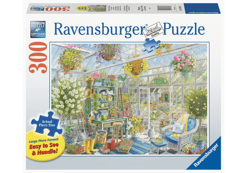 Ravensburger Greenhouse Heaven - 300 XXL pieces