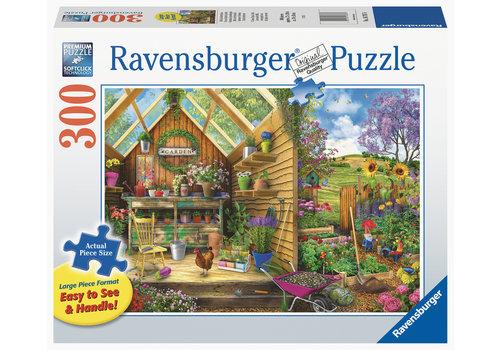 Ravensburger Het luxe tuinhuis - 300 XXL stukjes