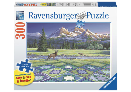 Ravensburger Quiltscape - 300 XXL pieces