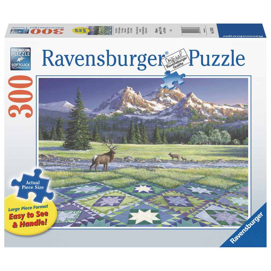 Quiltscape - puzzel van 300 XXL stukjes-1