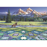 thumb-Quiltscape - puzzel van 300 XXL stukjes-2