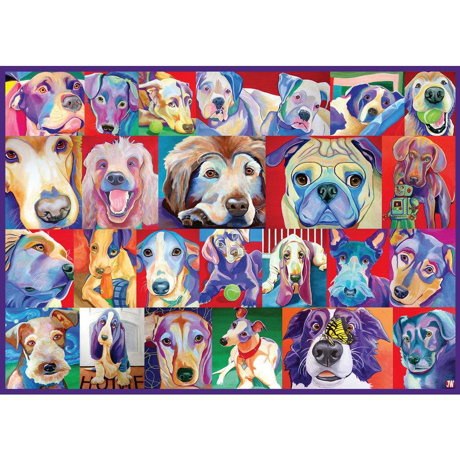 Hello Doggie - 500 XL stukjes-2