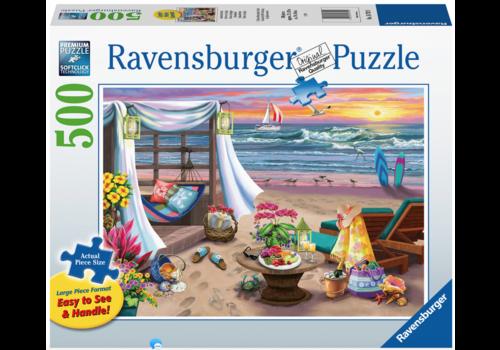 Ravensburger Soirée sur la plage - 500 pièces XL