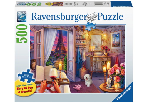 Ravensburger Bathroom in Paris - 500 XL pieces