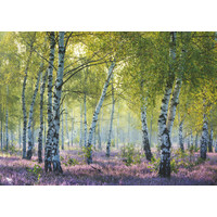 thumb-Forêt de bouleaux - puzzle de 1000 pièces-1
