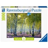 thumb-Forêt de bouleaux - puzzle de 1000 pièces-2