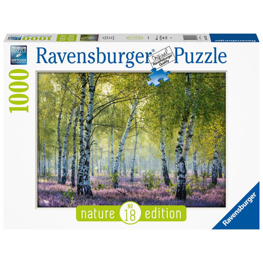Forêt de bouleaux - puzzle de 1000 pièces-2