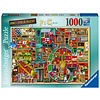 "Ravensburger Adembenemend Alfabet ""F&G""- Colin Thompson - puzzel 1000 stukjes"