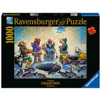 thumb-Pêche sous la glace - puzzle de 1000 pièces-1