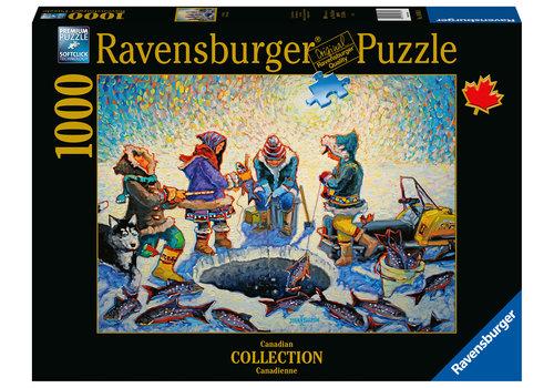 Ravensburger Pêche sous la glace - 1000 pièces
