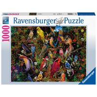 thumb-Kunstige vogels - puzzel van  1000 stukjes-2
