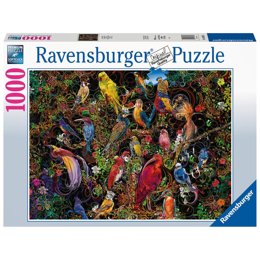 Kunstige vogels - puzzel van  1000 stukjes-2