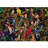Ravensburger Kunstige vogels - puzzel van  1000 stukjes