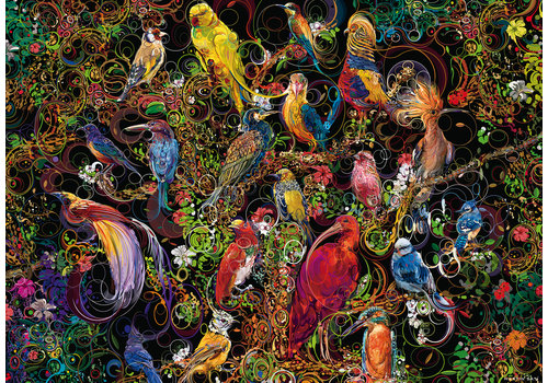 Ravensburger Kunstige vogels - 1000 stukjes