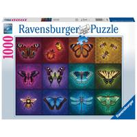 thumb-Gevleugelde dieren - puzzel van  1000 stukjes-2