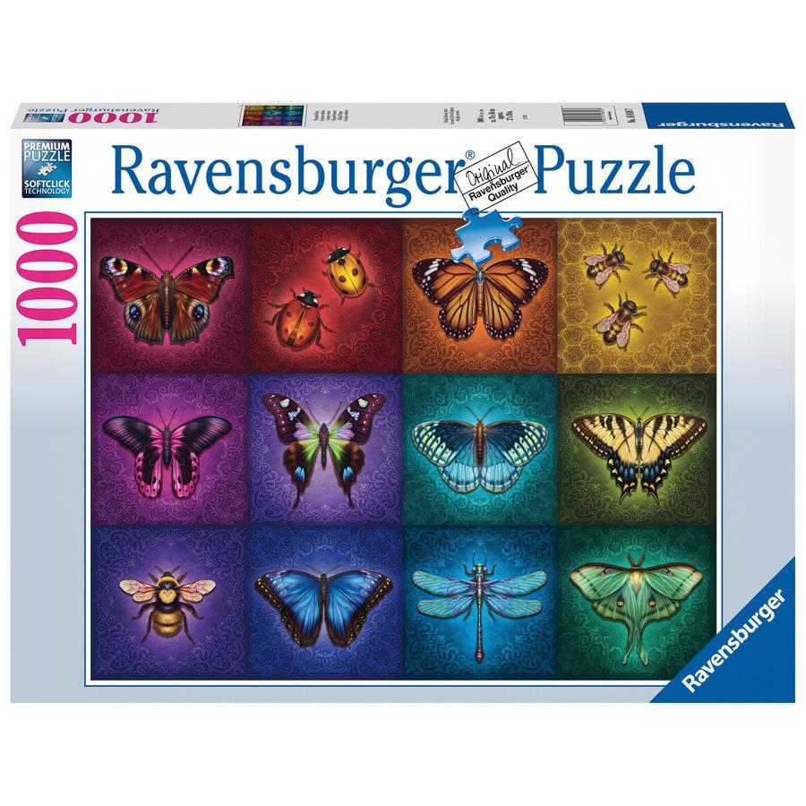 Gevleugelde dieren - puzzel van  1000 stukjes-2