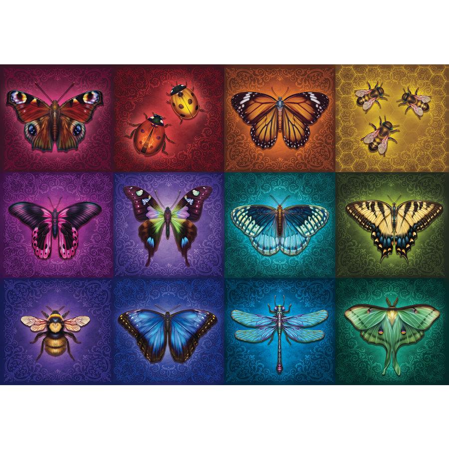 Gevleugelde dieren - puzzel van  1000 stukjes-1