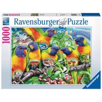 thumb-Land van de Lorikeets - puzzel van  1000 stukjes-2
