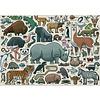 Ravensburger Wilde Dieren - puzzel van  1000 stukjes