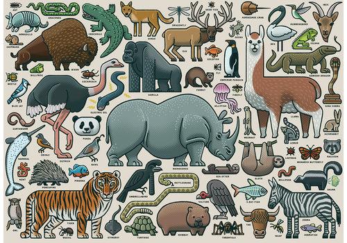 Ravensburger You Wild Animal - 1000 pieces