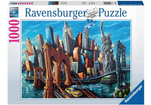 Ravensburger Welcome to New York - 1000 pieces