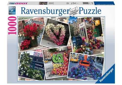 Ravensburger Flower Flash in New York - 1000 pieces
