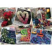 thumb-Bloemenpracht in New York - puzzel van  1000 stukjes-2