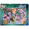 Ravensburger Kersenboom in bloei - puzzel van  1000 stukjes
