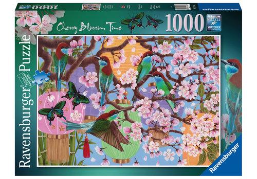 Ravensburger Kersenboom in bloei - 1000 stukjes