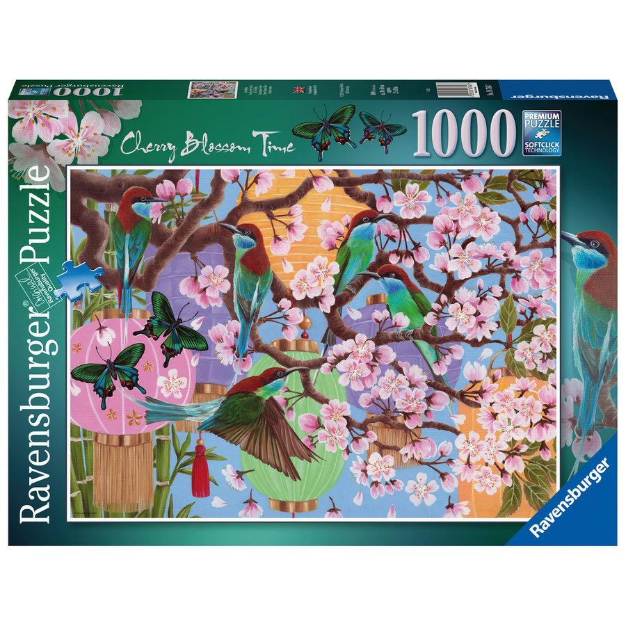 Kersenboom in bloei - puzzel van  1000 stukjes-1