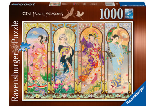 Ravensburger The Four Seasons - 1000 pieces