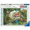 Ravensburger Flower Hill Lane - puzzel van  1000 stukjes