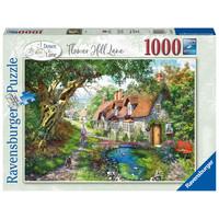 thumb-Flower Hill Lane - puzzel van  1000 stukjes-1