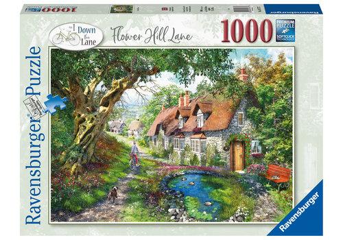 Ravensburger Flower Hill Lane - 1000 stukjes