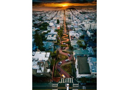 Ravensburger Lombard Street, San Francisco - 1000 stukjes