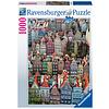 Ravensburger Gdańsk in Polen - puzzel van  1000 stukjes