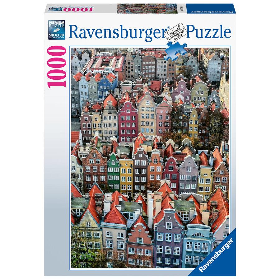Gdańsk in Polen - puzzel van  1000 stukjes-1