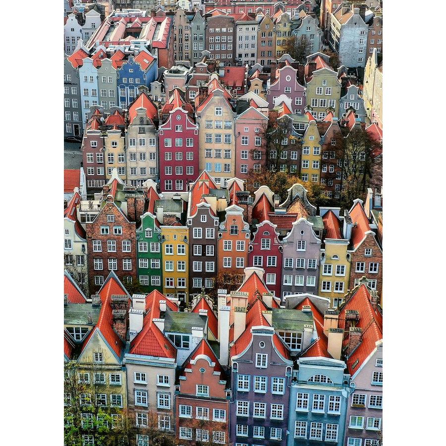 Gdańsk in Polen - puzzel van  1000 stukjes-2