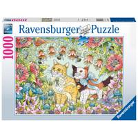 thumb-Kattenvriendschap - puzzel van  1000 stukjes-1