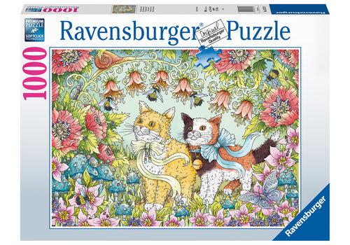 Ravensburger Kattenvriendschap - 1000 stukjes