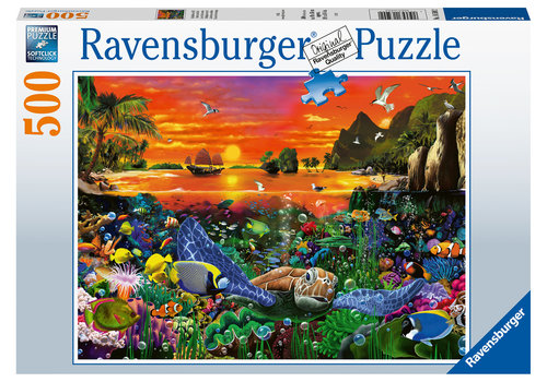 Ravensburger Le récif de la tortue - 500 pièces