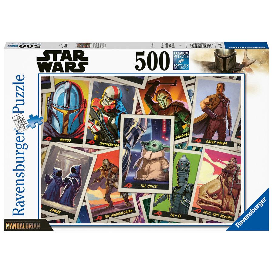 The Mandalorian 'The Child' - Star Wars - 500 stukjes-2