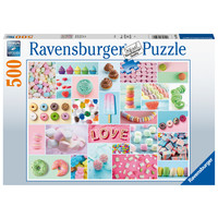 thumb-Sweet treats - jigsaw puzzle of 500 pieces-1