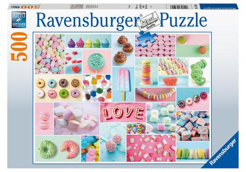 Ravensburger Douceurs sucrées - 500 pièces